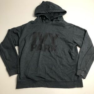 Ivy Park Gray Pullover Hoodie Womens Large Sweater